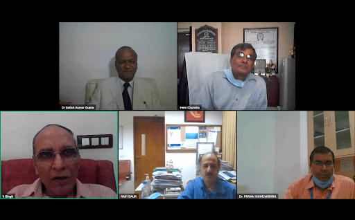 IC InnovatorCLUB virtual meeting session 1 particpants