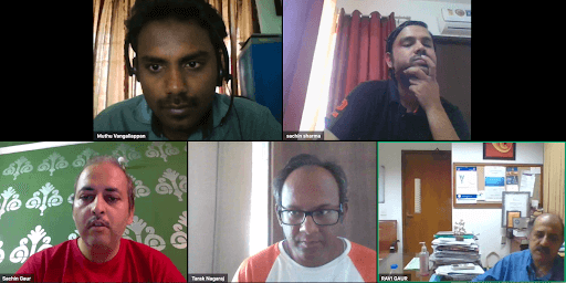 IC InnovatorCLUB virtual meeting session 2 particpants