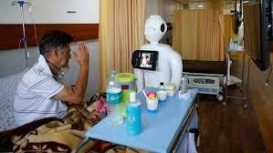 'MITRA'-the robot becomes a friend for covid-19 patients at noida hospital_1