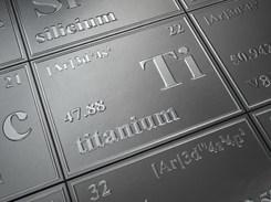 het element titaan
