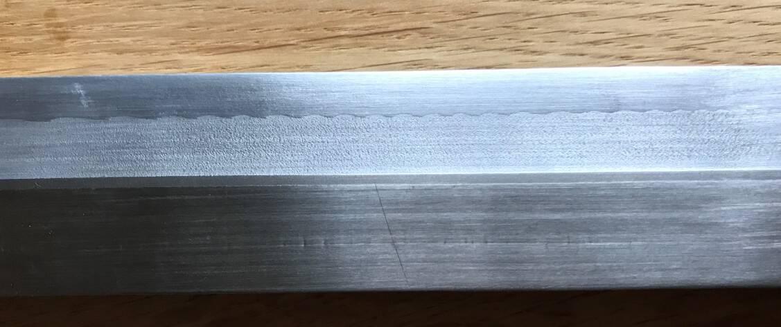 Afbeelding 5: Inox-Triplate met een basis van 316L en een titanium grade 1 tussenlaag en daarboven de twee gebruikelijke aluminiumkwaliteiten.