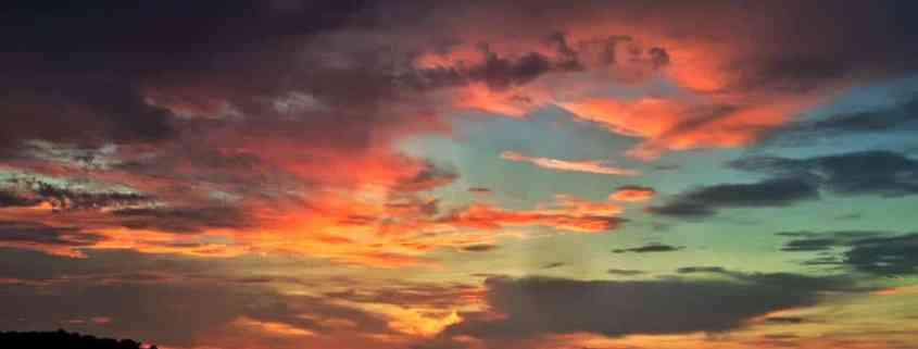 An evening sunset on Lake Greenwood, SC