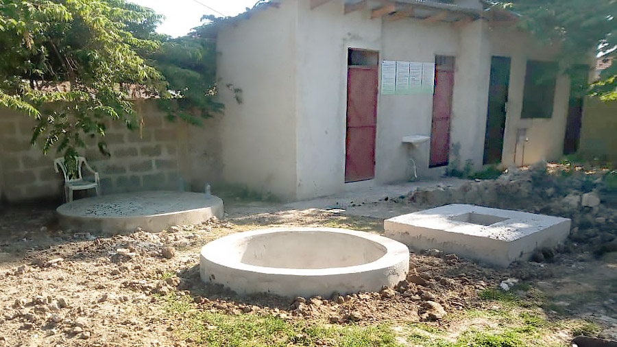 INNOQUA demo site in Mlalakua: Pit for lumbrifilter