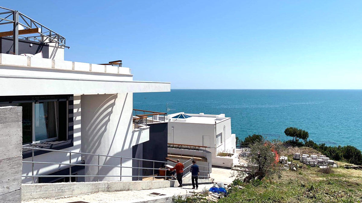 INNOQUA demo site: a single-family home in Vasto