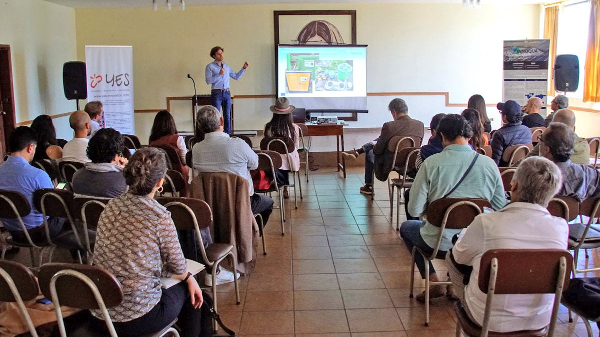 Open Day in Quito: Presenting INNOQUA to local water and sanitation stakeholders