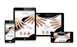 Реклама Sephora в сети Tapjoy