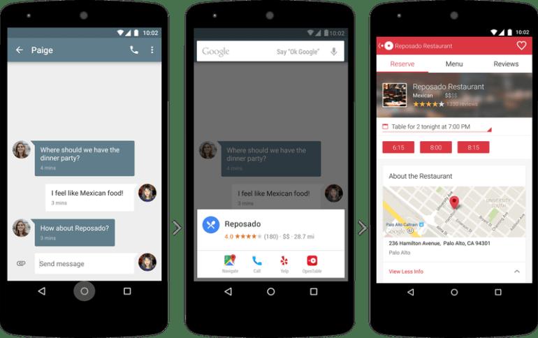 Google Now On Tap и контекстное предиктивное распознавание