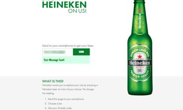 Heineken угощает пользователей Facebook и Twitter пивом