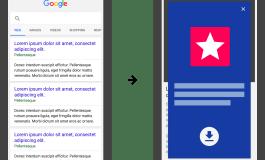 Google будет пессимизировать сайты с полноэкранной рекламой приложений