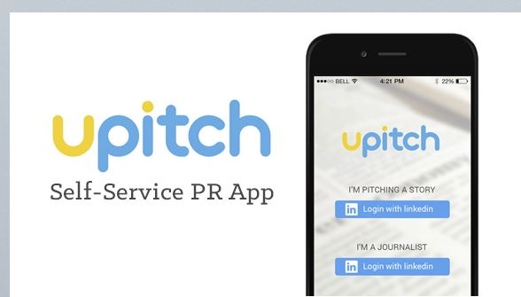Best PR Mobile Apps - Upitch