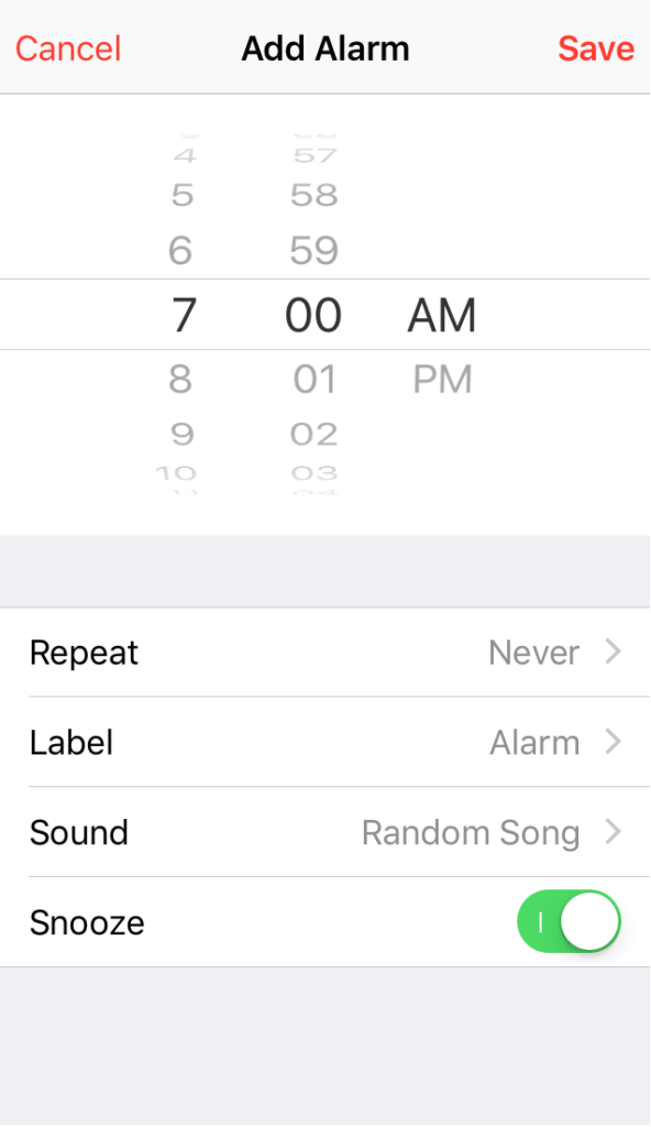 This Alarm App Picks Up Random Songs from Your Music