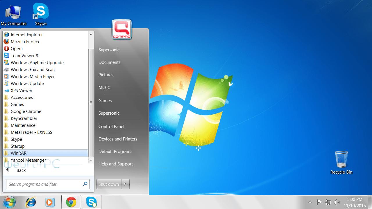 microsoft gives windows 7