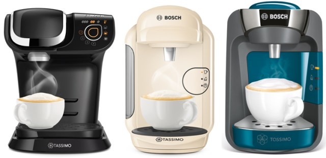 Tassimo kapsül kahve makinesi çeşitleri