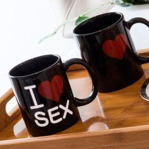 Caneca termica I Love Sex