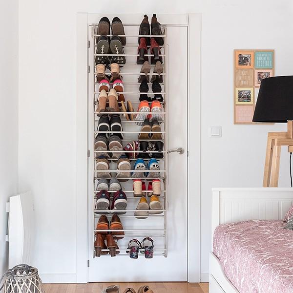 Estante de Sapatos para portas - 35 Pares