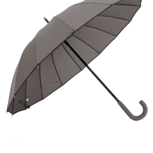 Guarda-Chuva Médio Cinza/ Preto