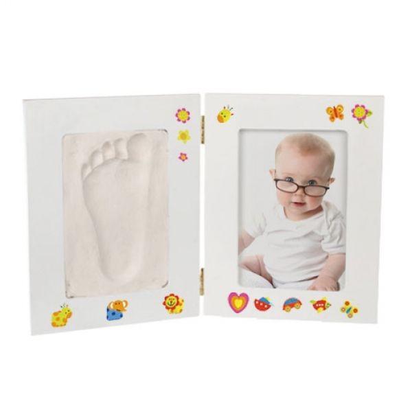Kit de DIY com Moldura para Bébé com foto