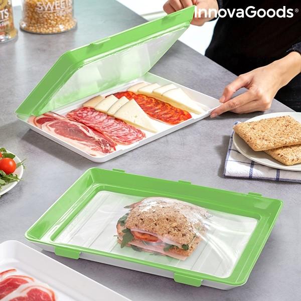 Pack 2 Tabuleiros para alimentos reutilizáveis