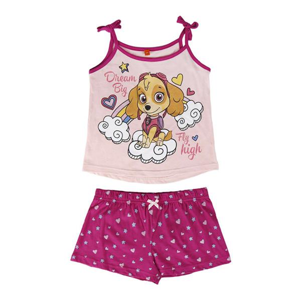 Pijama de Verão A Patrulha Pata para menina