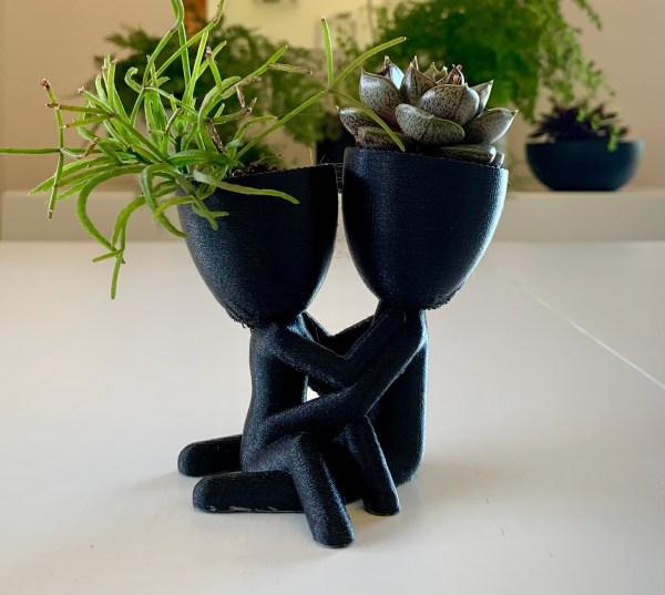 Vaso decorativo Casal de Namorados