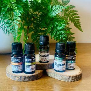 Kit de 5 óleos essenciais