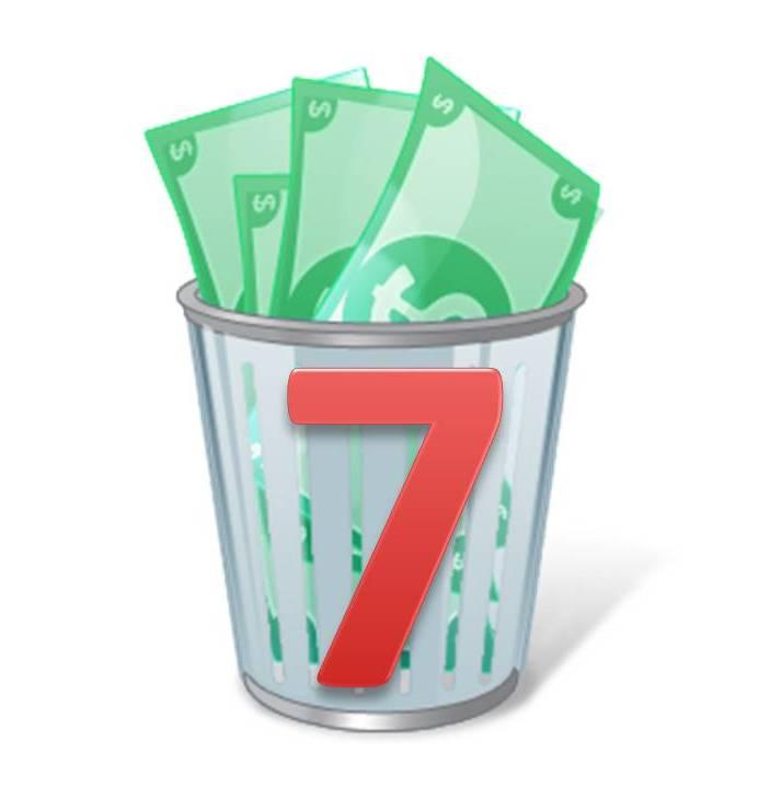 Los 7 tipos de desperdicios