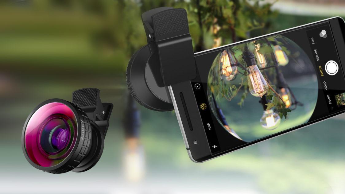 Objetivo ojo pez Aukey PL F2 e1551394403412 - Accesorios para tus Fotografías con Celular
