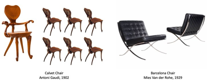 Catalan Modernism and Bauhaus Chairs