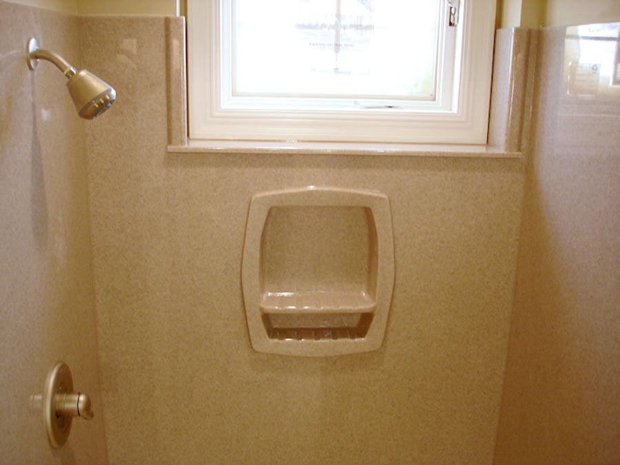 Solid Surface Bath Vanity Countertops Accessories and Shower Doors  Innovate Building Solutions