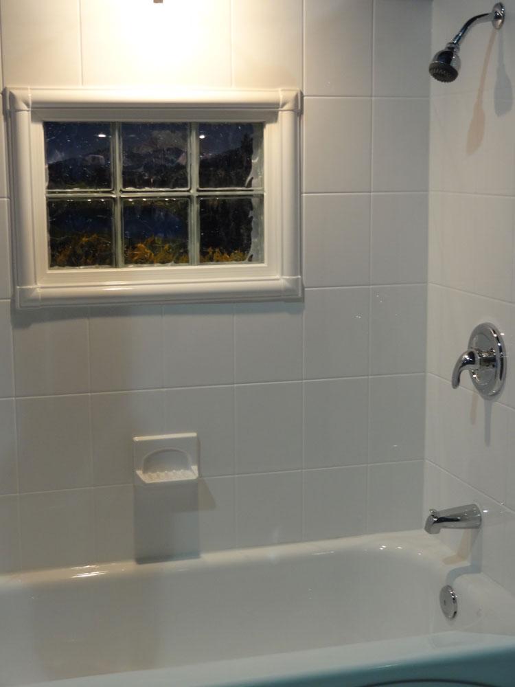 Bath  Shower Wall Surround with Acrylic Tile  Swanstone Cleveland Columbus Ohio  Innovate