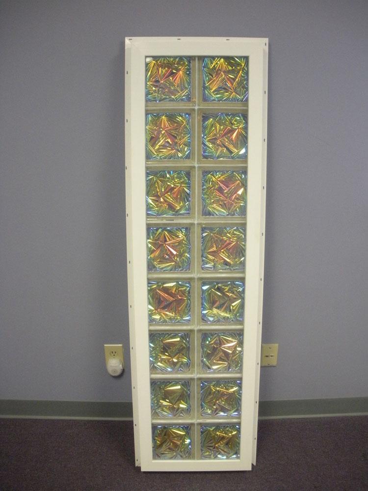 Vinyl Framed Custom Glass Block Windows Nationwide Supply Columbus  Cleveland Ohio