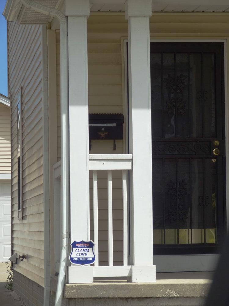 Steel Security Screen  Storm Door Front Doors Cleveland