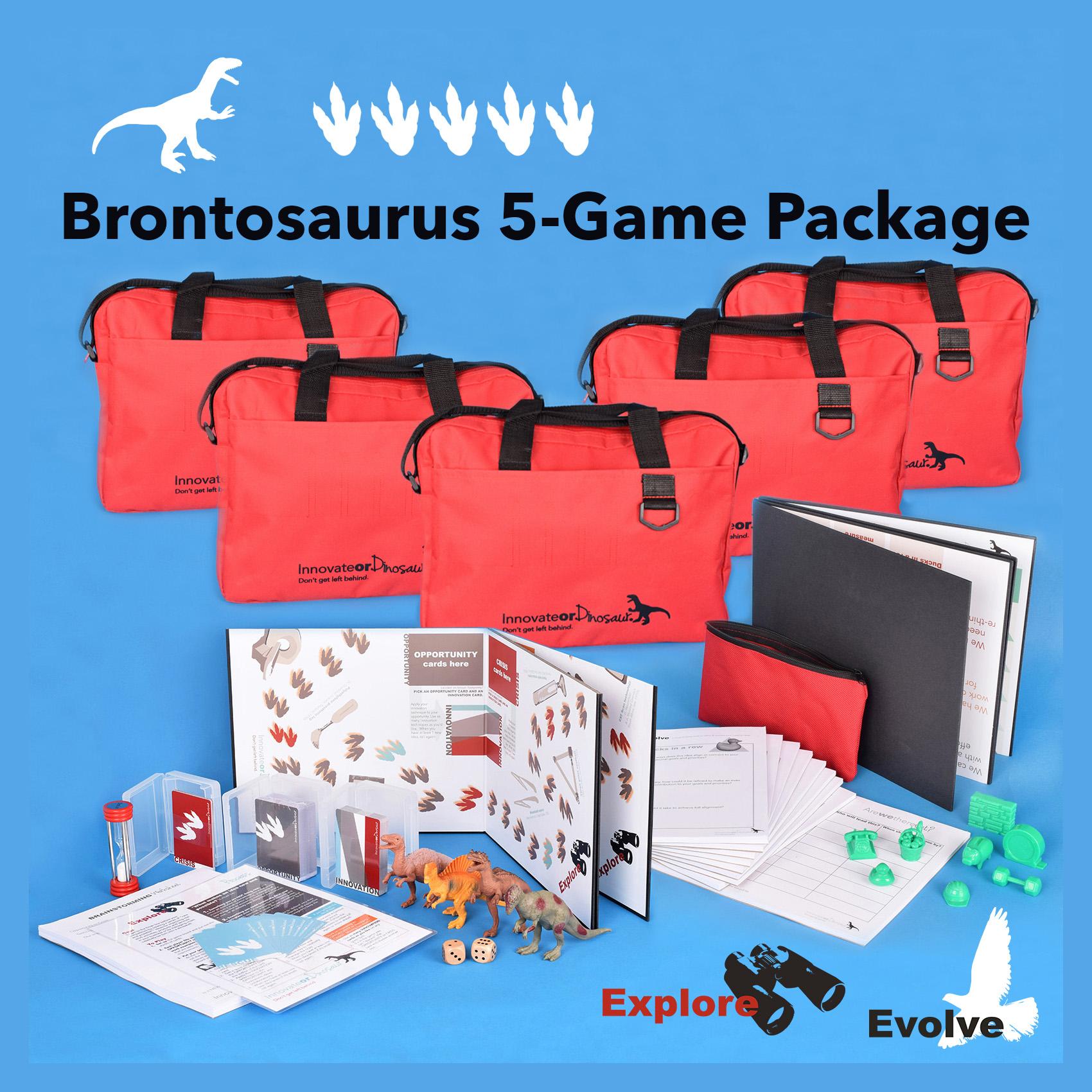 Brontosaurus 5-game package