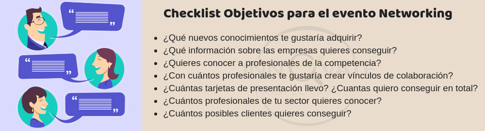 Checklist networking