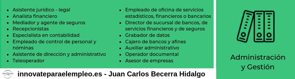 Portales de empleo del sector de la administración