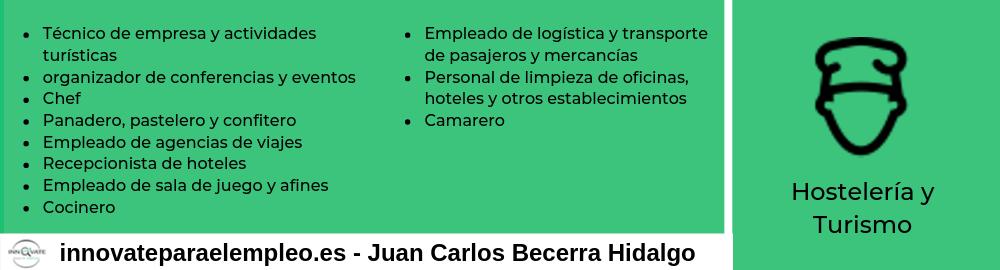 Portales de empleo del sector de la hostelería y el turismo
