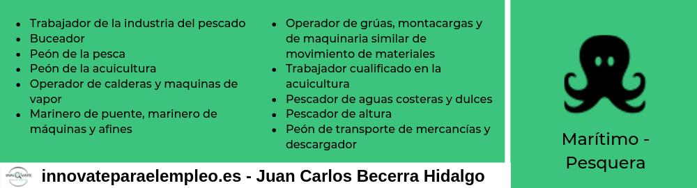 Portales de empleo del sector marítimo-pesquero