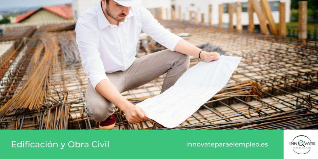 Listado de portales de empleo de obra civil y edificacion