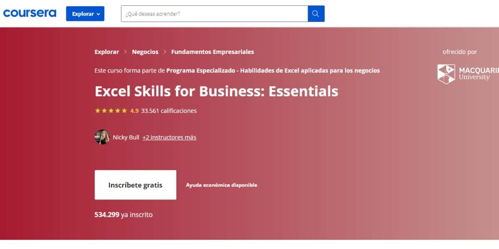 curso-skills-for-business-excel