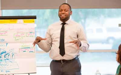 Dr. Anthony Johnson, fundador de Promise Academy en San Jose