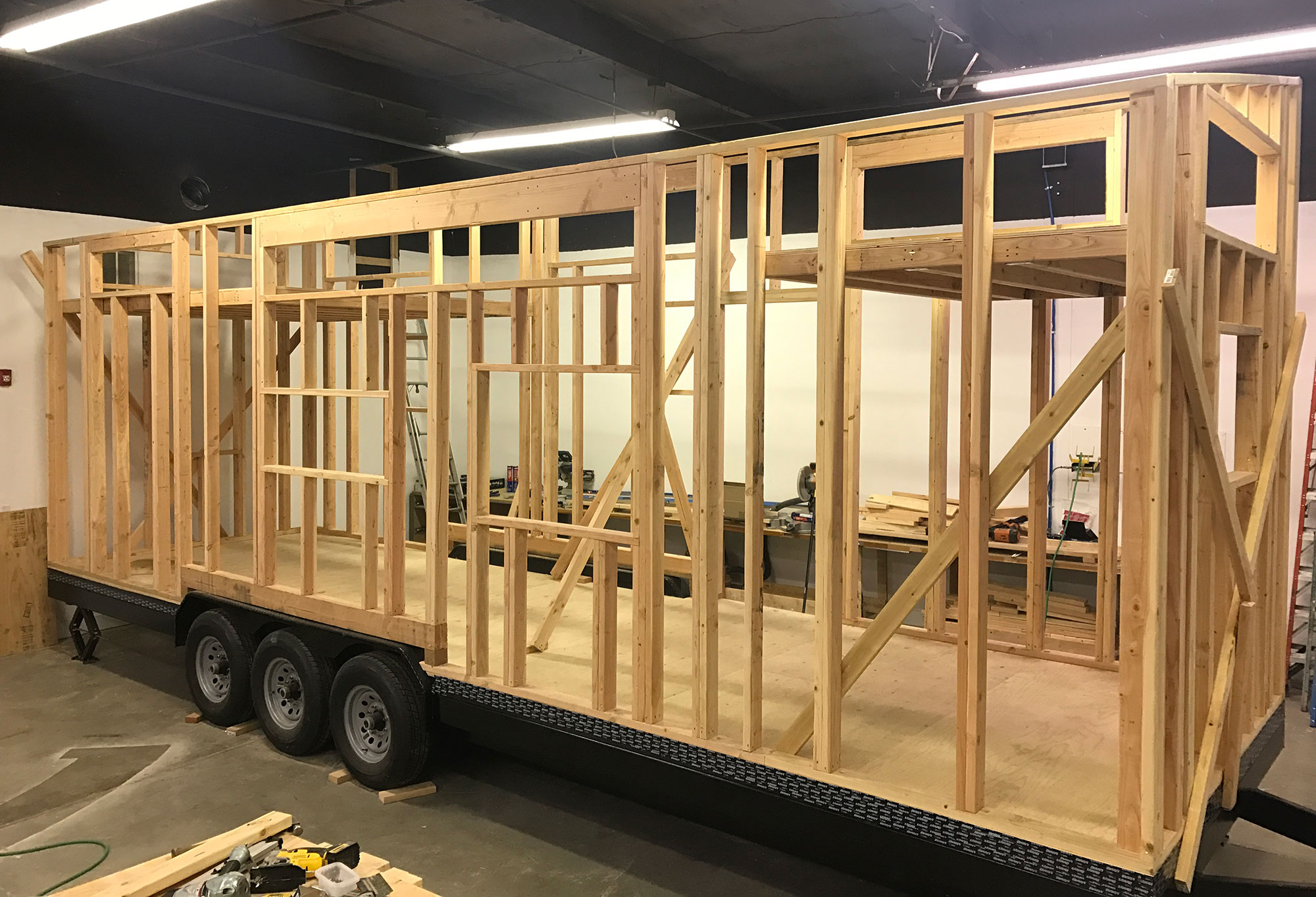 Tiny House being built by Tiny Innovations
