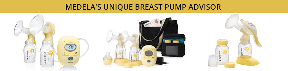 MEDELA'S UNIQUE BREAST PUMP ADVISOR