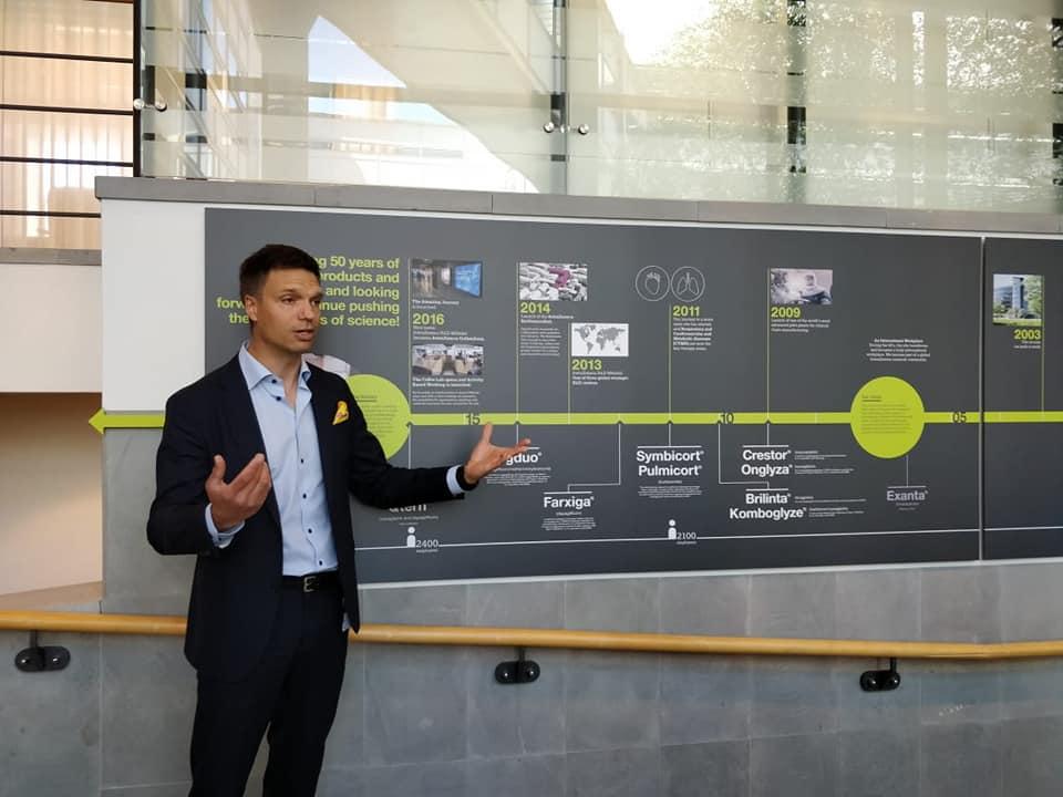 InnoBRIDGE team visit to AstraZeneca Careers4