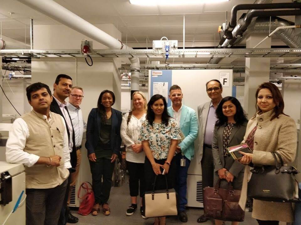 InnoBRIDGE team visit to Sahlgrenska Universitetssjukhu