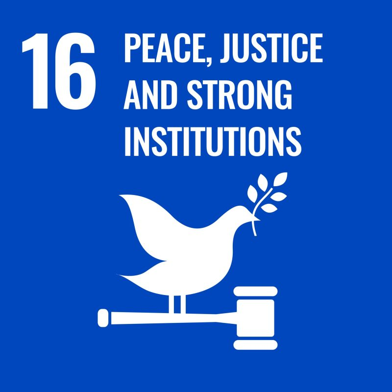 SDG 16 - Peace Justice & Strong Institution