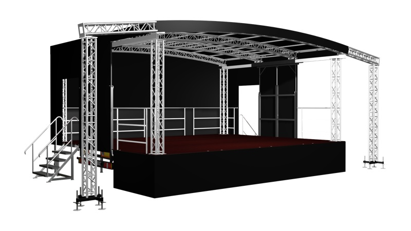 Outdoor Stages Mobile Stages Staging Hire Festival Stage  Yorkshire  Innovation Productions