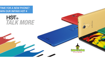 Innovation Village Giveaway Infinix Hot 4