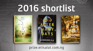 2016 Etisalat Prize for Literature