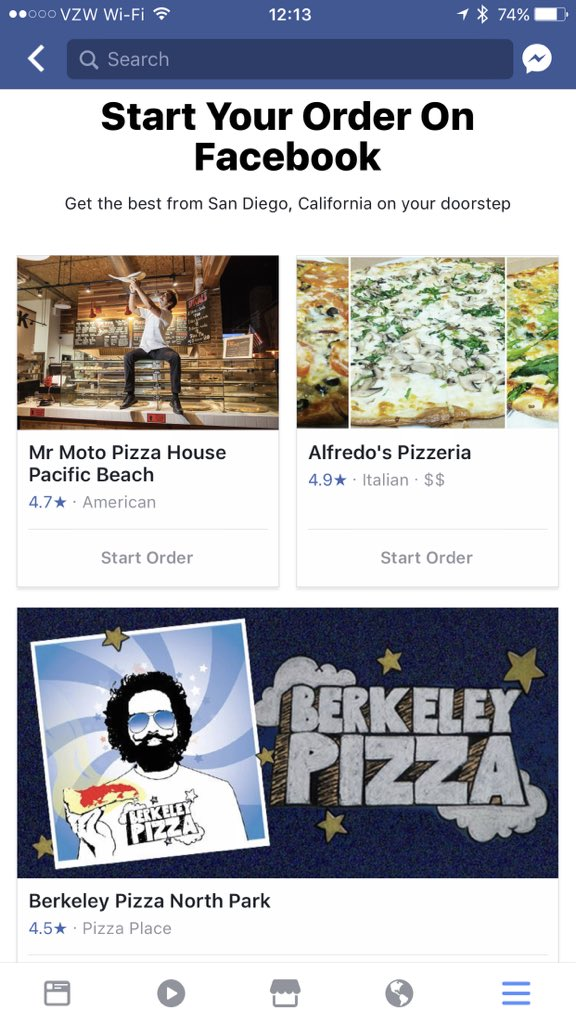 "Facebook rolls out ""Order food"" option to increase stickiness 6iqsbc3h"