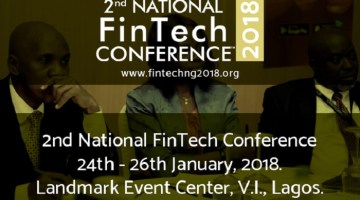 NATIONAL FINTECH CONFERENCE 2018